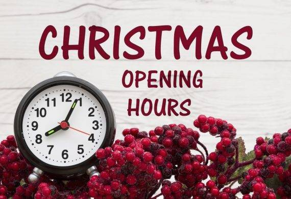 Christmas opening times - East Midlands Clay Sports