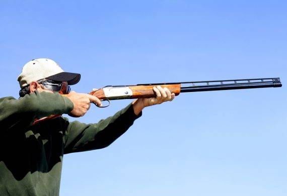 clay shooting practice
