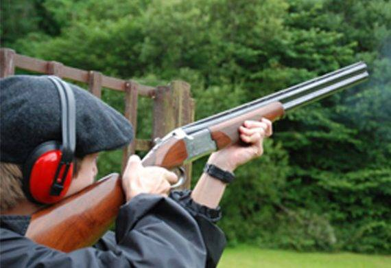 Clay pigeon shooting in Nottingham