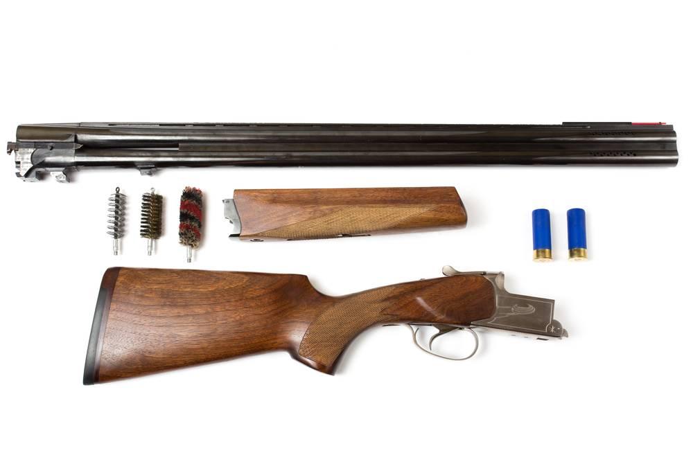 shotgun cleaning - clay pigeon shooting